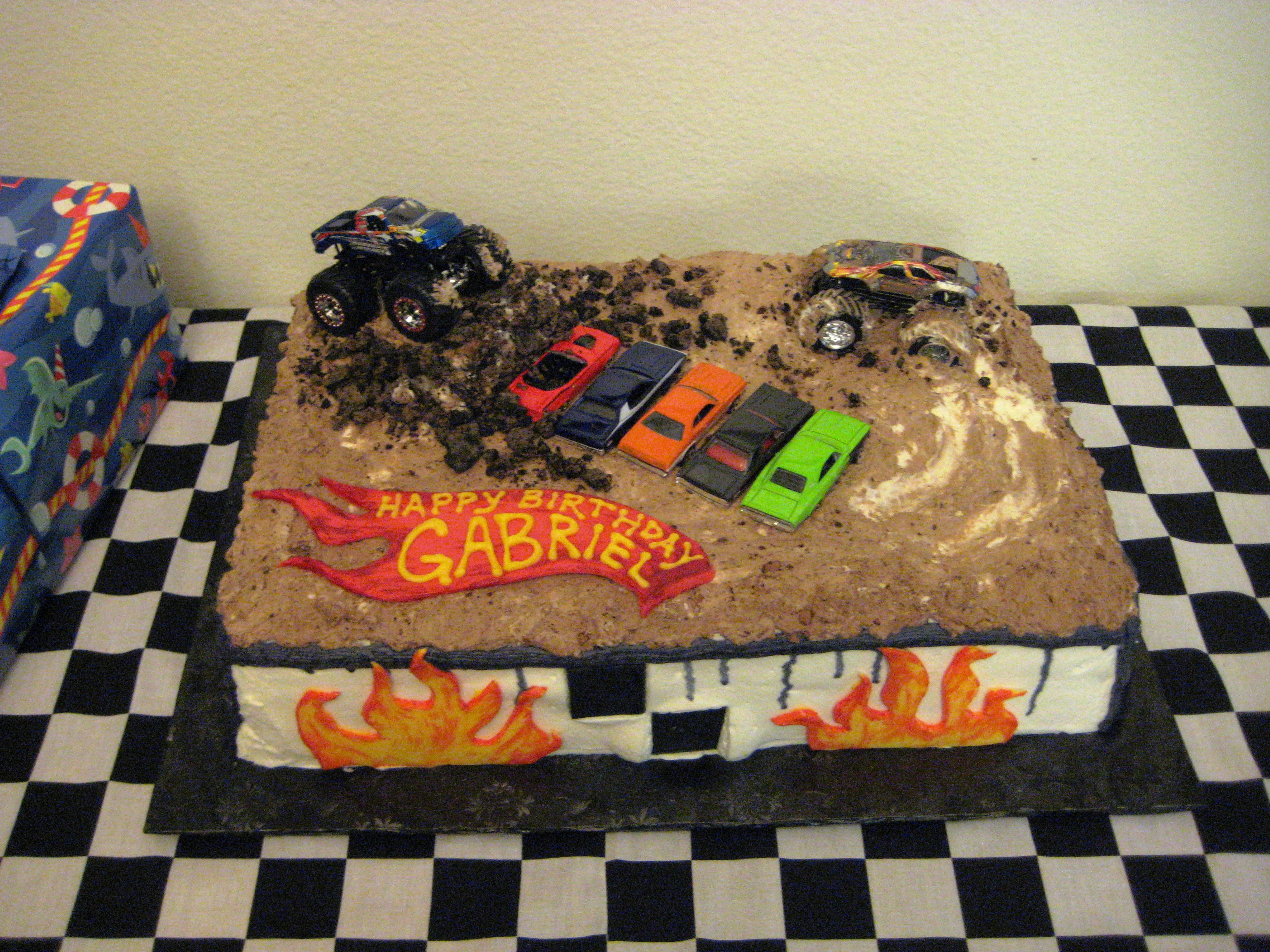 Pictures Of Monster Jam Cakes