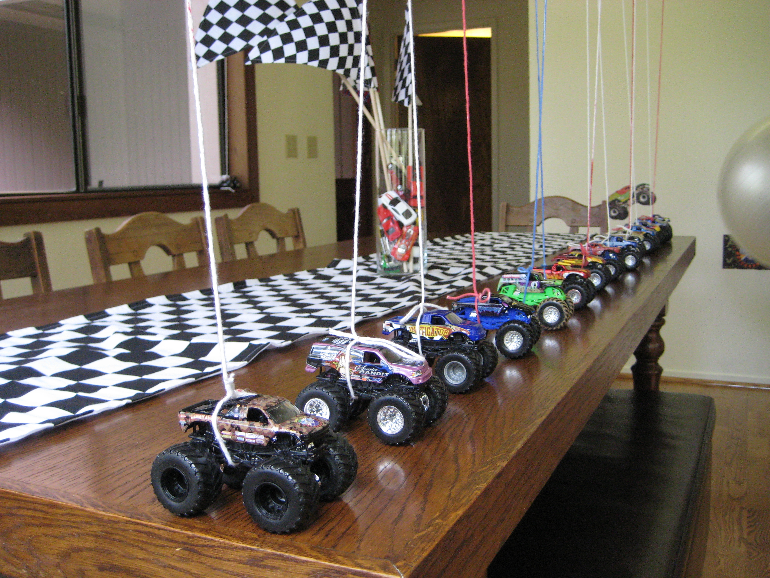 Real Parties Monster Truck Birthday Party Modern Hostess