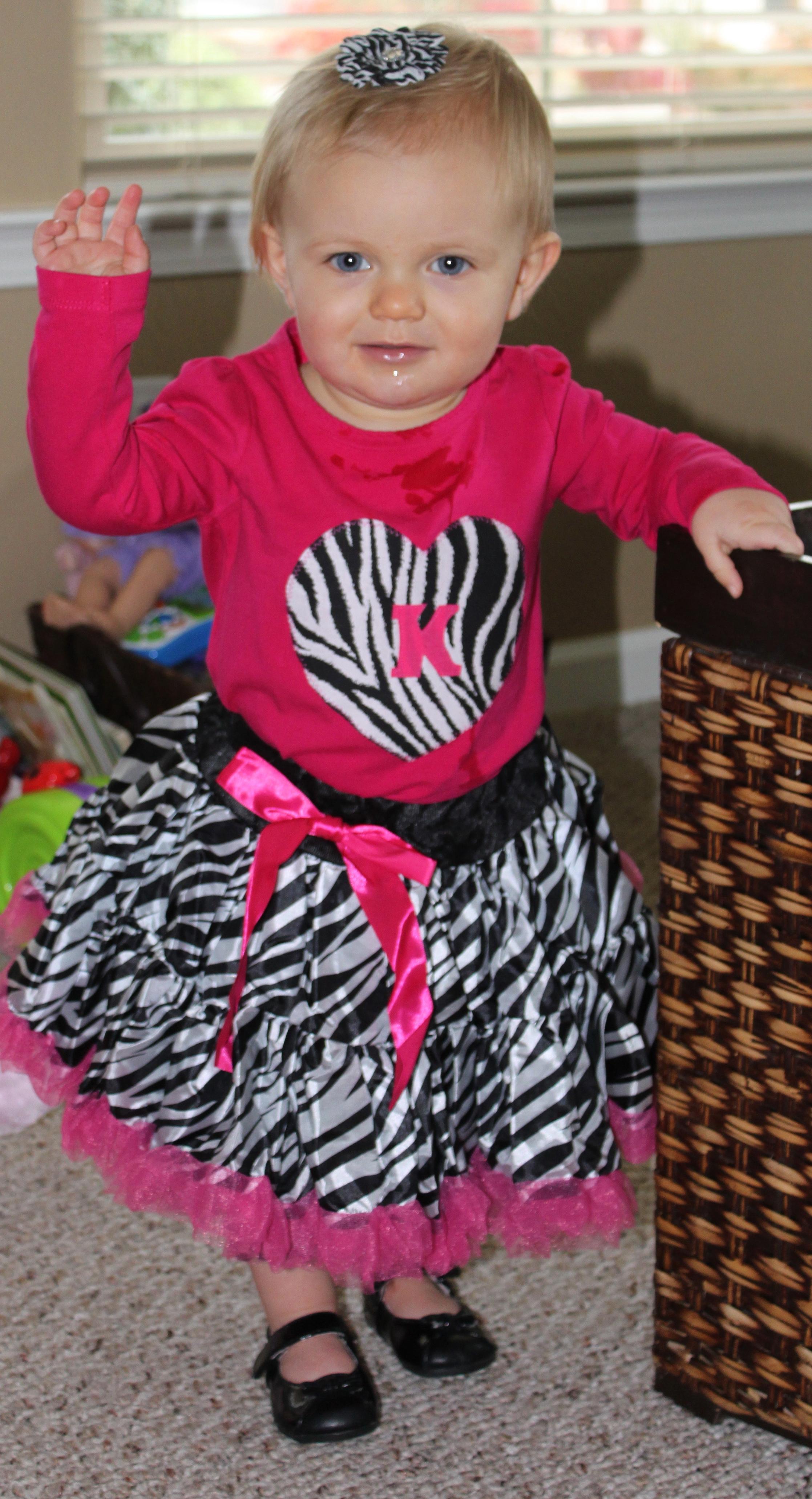 Real Parties Zebra 1st Birthday Party Modern Hostess